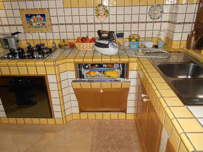 Costruzione cucine in muratura Napoli -